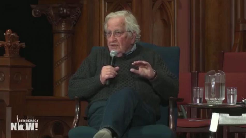 Noam Chomsky: «Lula es el preso político más importante del mundo»