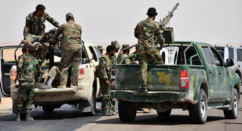 Ofensiva del ejército sirio contra las milicias islamistas en Idlib y Hama