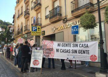 Stop deshaucios Granada solicita nuevamente una mesa de negociación con Caja Rural
