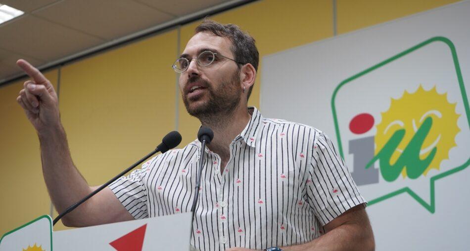 Toni Valero, nuevo coordinador general de IU Andalucía