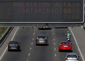 Greenpeace demuestra que la contaminación ha registrado mínimos históricos con las multas de Madrid Central