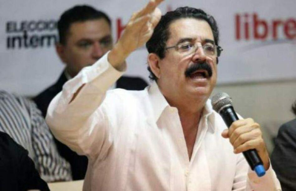 Honduras. Zelaya exhorta al pueblo a mantenerse movilizados y responsabiliza a los militares por cualquier agresión