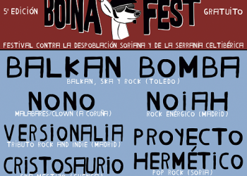 Balkan Bomba serán el cabeza de cartel del 1erfestival contra la despoblación Boina Fest