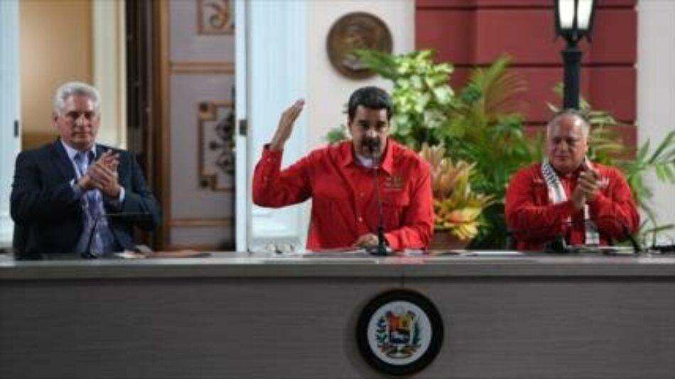 Maduro denuncia campaña 'brutal' de 'fake news' contra Venezuela