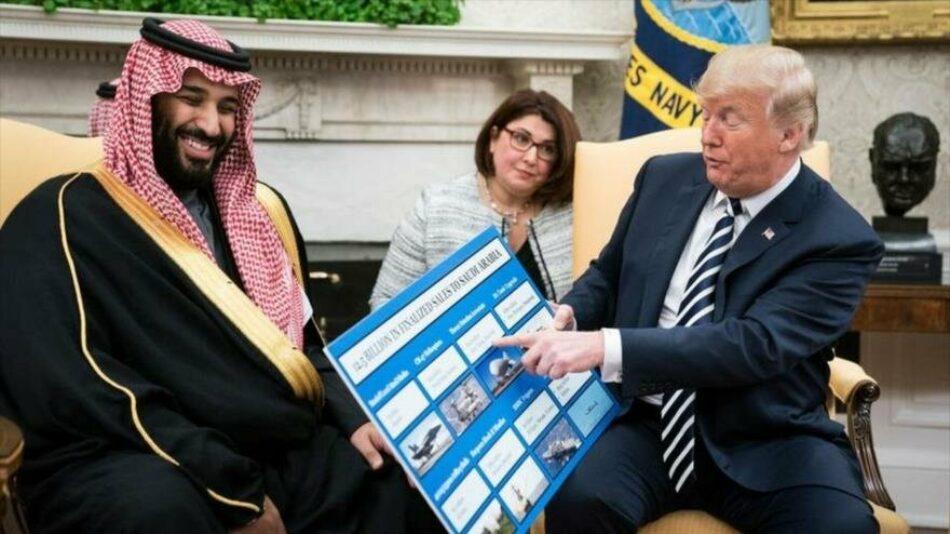 Trump veta medida del Congreso que bloquea venta de armas a Riad