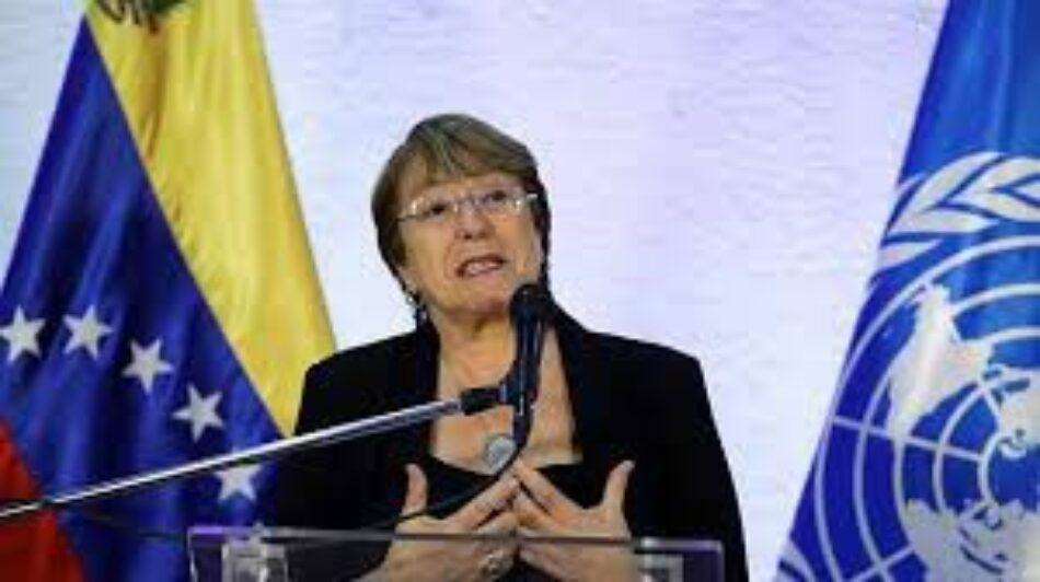 Venezuela. Informe Bachelet: Cándidos y oportunistas