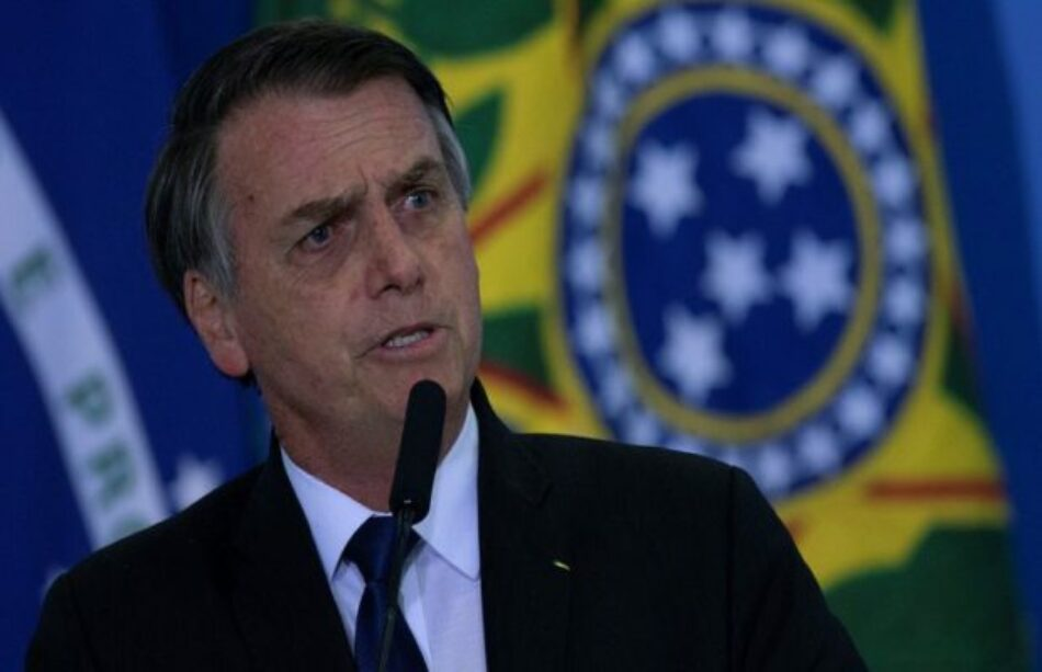 Brasil. Bolsonaro amenaza con arrestar a periodista por revelar irregularidades en contra de Lula