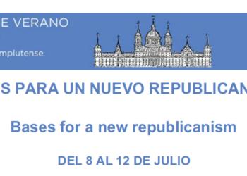 Pablo Iglesias inaugura este lunes en El Escorial los cursos de verano 'Bases para un nuevo republicanismo'