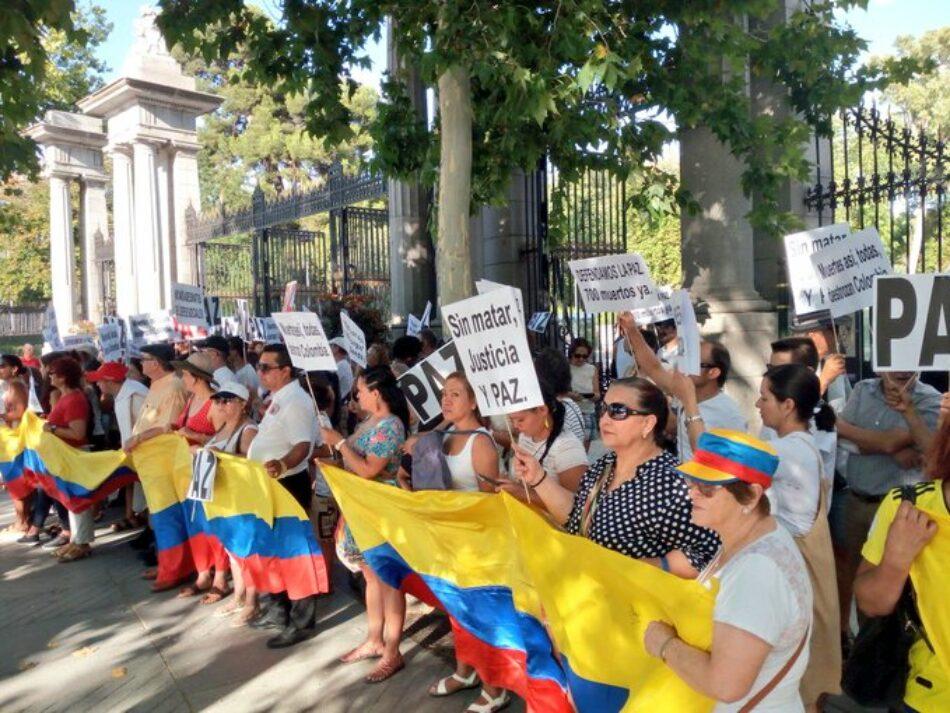 Colombia marcha contra la violencia y el asesinato de líderes sociales