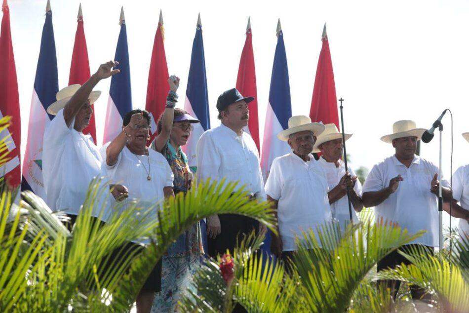 Nicaragua conmemora el 40 aniversario del repliegue a Masaya