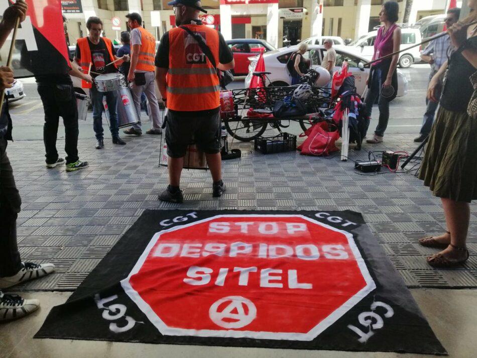 """Adelante Andalucía muestra su apoyo a los 134  trabajadores de Sitel afectados por un ERE """"injustificado"""""""