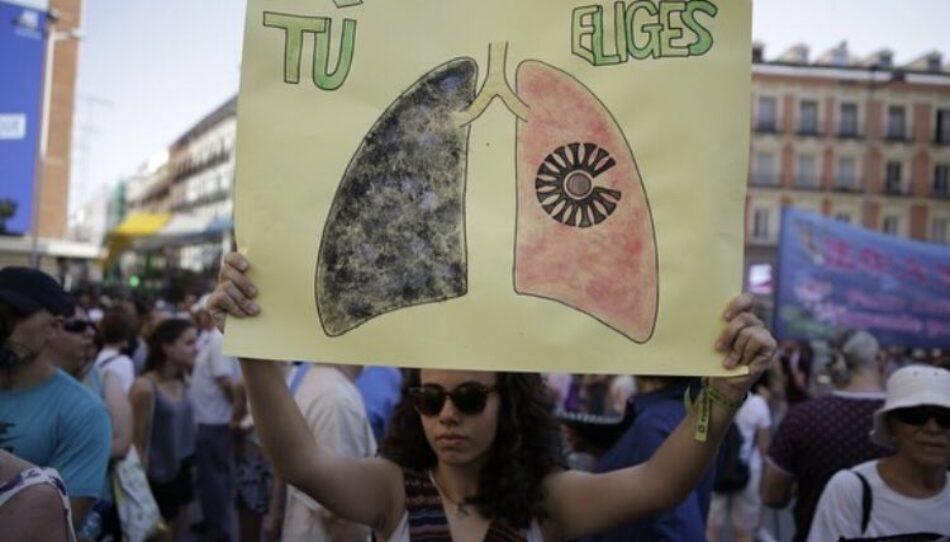 Ecologistas en Acción y Greenpeace presentan un recurso contra la moratoria de Madrid Central