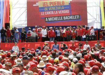 Vicepresidenta Rodríguez: Informe sobre DDHH de Bachelet está plagado de mentiras
