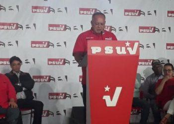 Cabello: Las únicas elecciones que se realizaran en el país en el 2020 son las parlamentarias