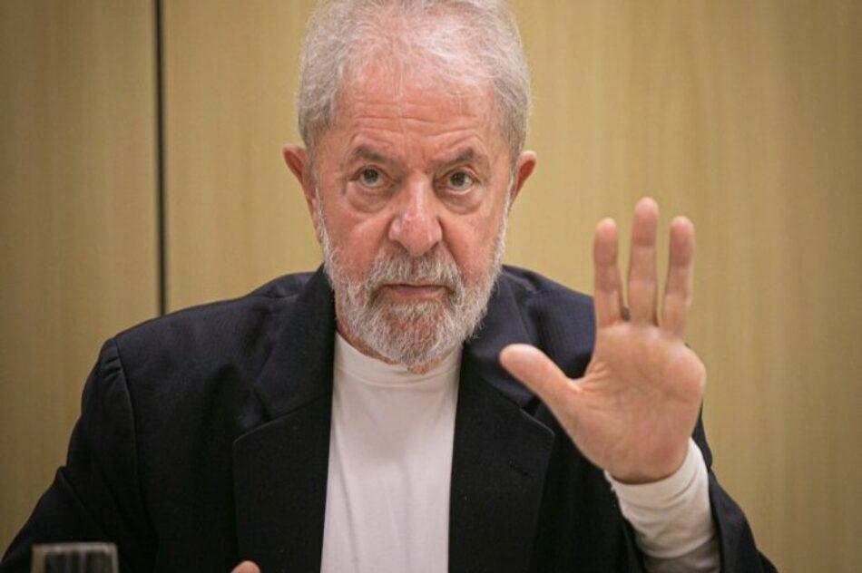Lava Jato es una operación convertida en partido político, según Lula