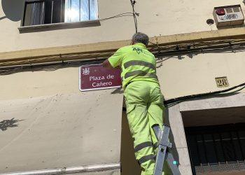 La plaza de los Derechos Humanos recupera su denominación fascista en Córdoba: «Plaza de Cañero»