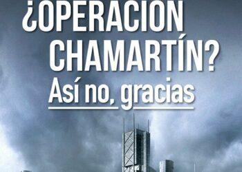 Lanzan la campaña «¿Operación Chamartín? Así no, gracias» #ChamartinAsiNoGracias