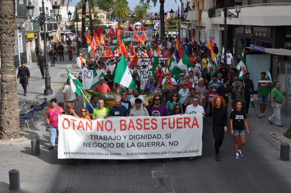 La Plataforma Andaluza contra las Bases Militares y la Guerra inicia una campaña contra los gastos militares y por la paz