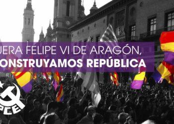 «Ante la visita del monarca a Aragón»