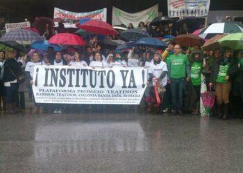 Marea Verde denuncia tapón a la Educación Pública en Teatinos para favorecer a la privada