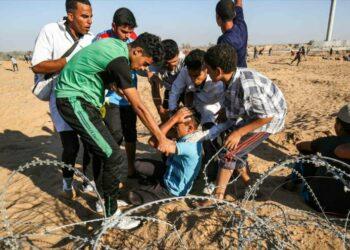 97 heridos en una nueva jornada de represión israelí en Gaza