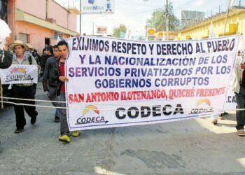 Conmoción en Guatemala ante el asesinato de dos líderes indígenas
