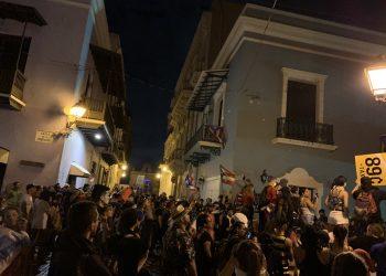 Continúan las protestas en Puerto Rico contra el gobernador Ricardo Roselló