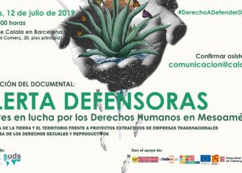 Las mujeres en el centro de la defensa de los derechos humanos en Mesoamérica: 2.197 agresiones a defensoras entre 2015-2016