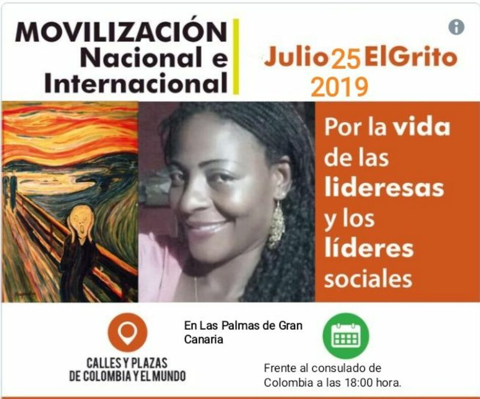 Pronunciamiento de La Plataforma Canarias con Venezuela Bolivariana