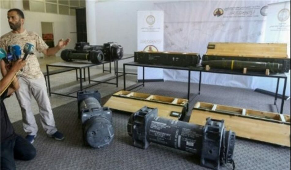 Libia: Capturan misiles antitanque estadounidenses suministrados por los EAU a Haftar