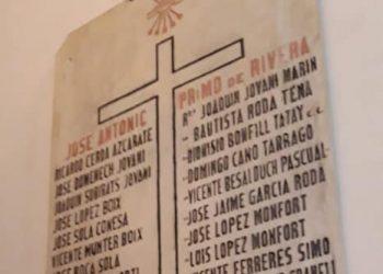 Compromís vuelve a pedir a los obispos de Tortosa y Segorbe-Castelló eliminar símbolos franquistas en las iglesias como por ejemplo Sant Mateu, Cinctorres, Almassora, El Toro, Arañuel o Sarratella