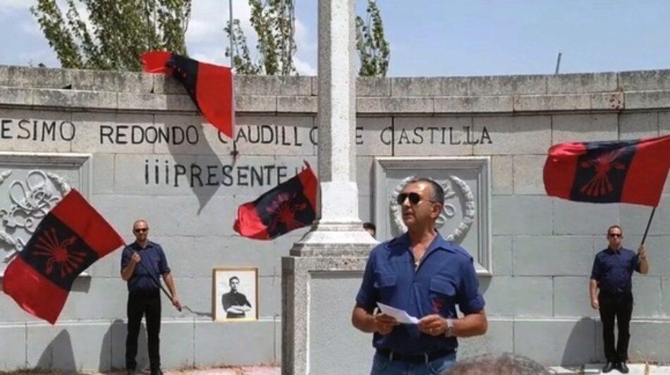 Compromís afirma que la impunidad de la ley de Memoria Histórica permite actos fascistas como el  del 21 de julio en Labajos, en el monumento a Onésimo Redondo