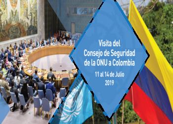 Proceso de paz centra visita de ONU a Colombia