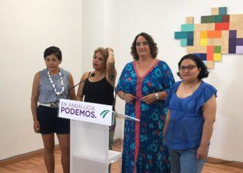 Podemos Andalucía dona 5.000 euros del excedente salarial de sus diputados a la Asociación de Empleadas del Hogar de Sevilla