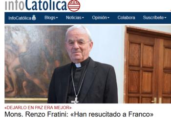 """IU reclama al Gobierno que aclare si piensa """"llamar a consultas a su embajadora ante la Santa Sede y aclarar si la opinión del nuncio sobre Franco representa la de todo el Vaticano"""""""