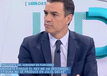 Pedro Sánchez manifiesta su intención de modificar el artículo 99 de la Constitución, que regula el proceso de investidura