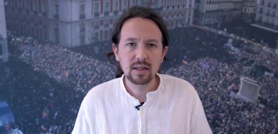 Iglesias acepta el veto del PSOE «siempre y cuando no haya más vetos y la presencia de Unidas Podemos en el Gobierno sea proporcional a los votos»