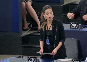 Sira Rego lleva al Parlamento Europeo la situación de las áreas degradadas por la minería en Sevilla