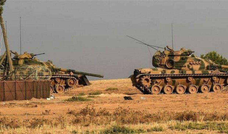 Choques armados entre el Ejército sirio y el Ejército turco en el noroeste de Hama