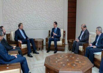 Siria ratifica su apoyo a Irán ante las amenazas estadounidenses