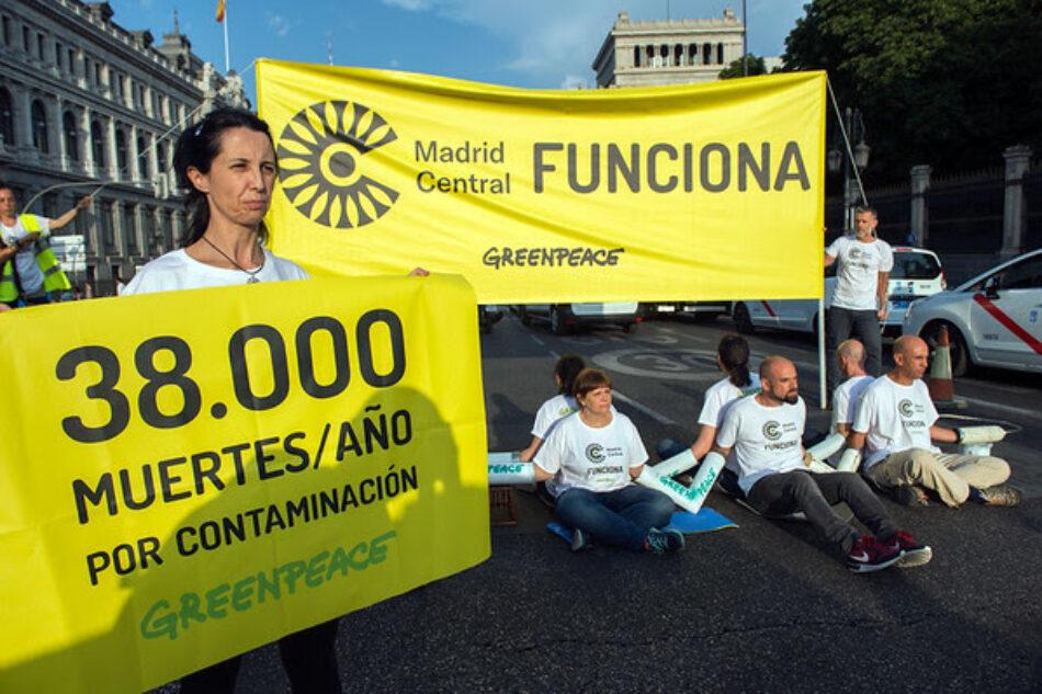 Greenpeace responsabiliza de las sanciones anunciadas por la UE a los gobiernos que anteponen los coches a la salud