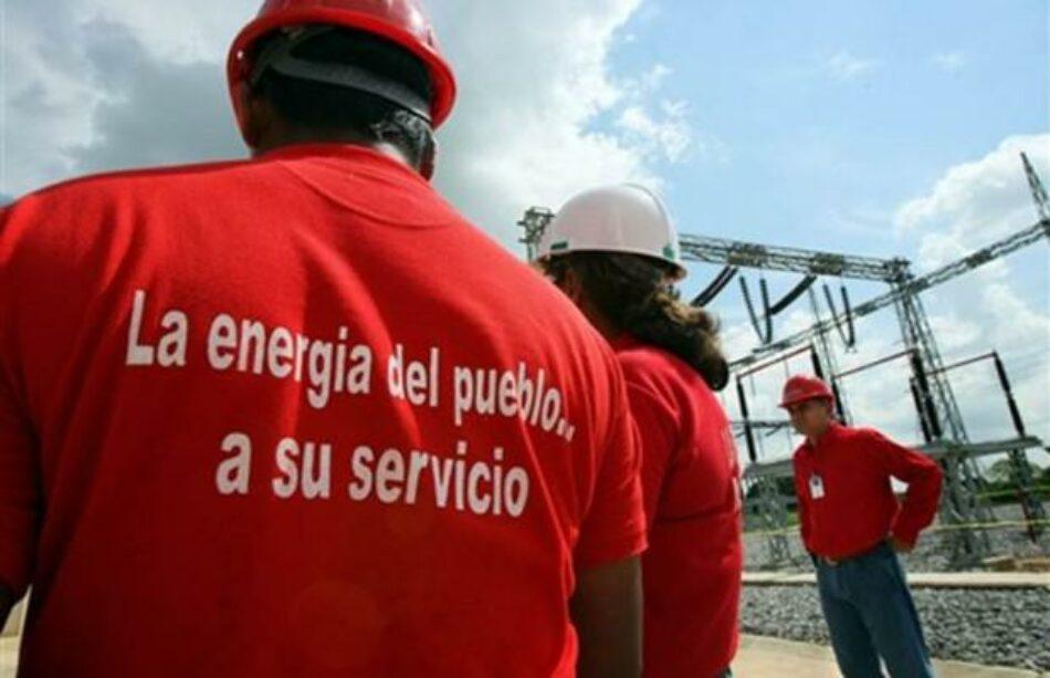 Venezuela avanza en la estabilización del Sistema Eléctrico Nacional