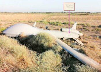 Un dron espía de EEUU cae en Bagdad, la capital de Irak