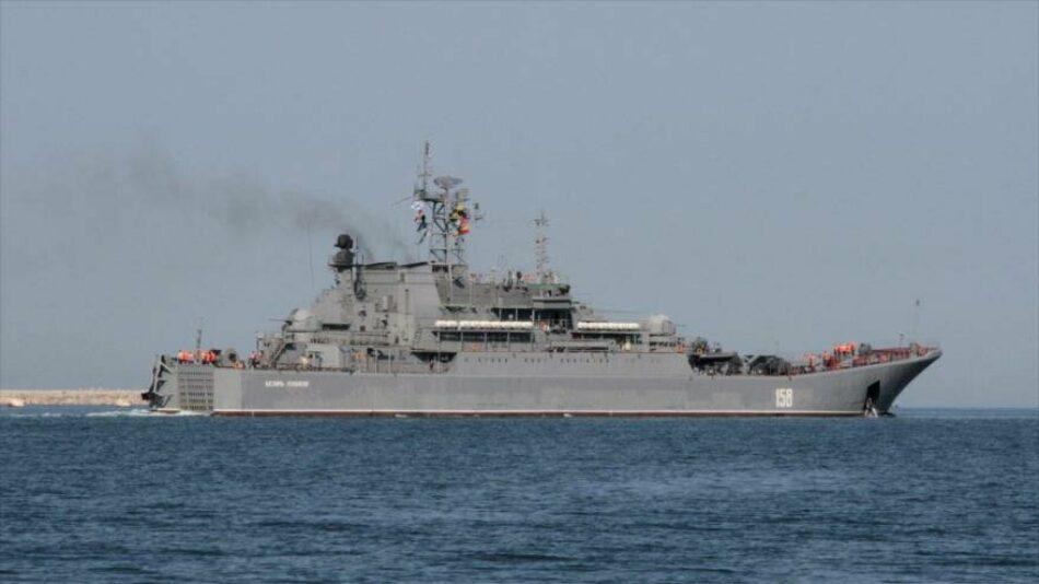 """Destructor de EEUU entra en el mar Negro bajo la """"vigilancia"""" rusa"""