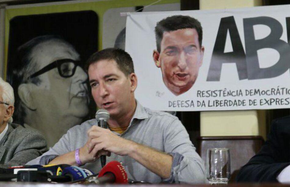 """Brasil. Glenn responde Bolsonaro: """"No voy a huir de este país, me quedo aquí"""""""