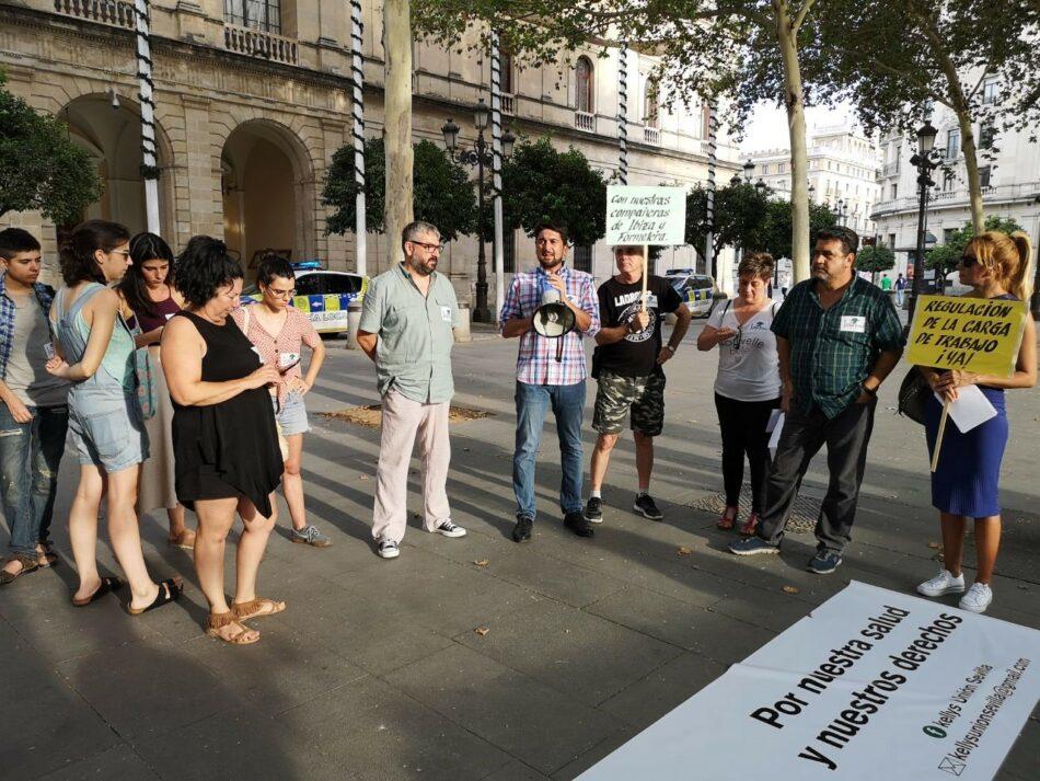 Adelante Andalucía defiende los derechos de las camareras de piso de Sevilla