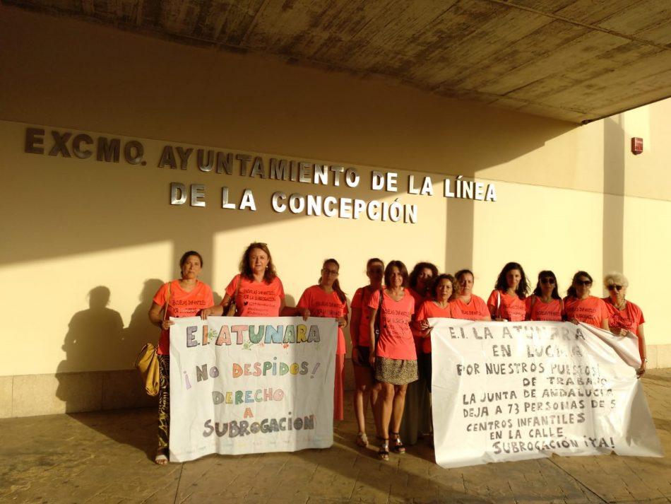 CGT apoyará todas las concentraciones de las trabajadoras de la empresa ASISTTEL despedidas por la Junta de Andalucía y anuncia nuevas acciones sindicales para el mes de septiembre en el Campo de Gibraltar