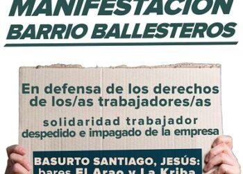 Manifestación por la solución al conflicto del Bar La Kriba en Logroño, el próximo 1 de agosto