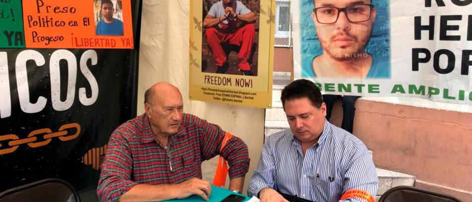 Honduras. Presos políticos en huelga de hambre