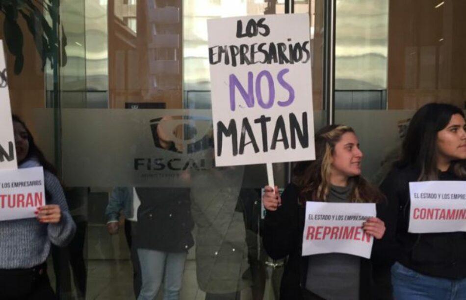Chile. A tres años de la muerte de la ambientalista Macarena Valdés, feministas anticapitalistas ocupan Fiscalía